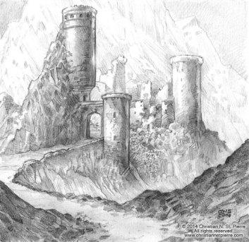 Las ruinas de Val-Negra